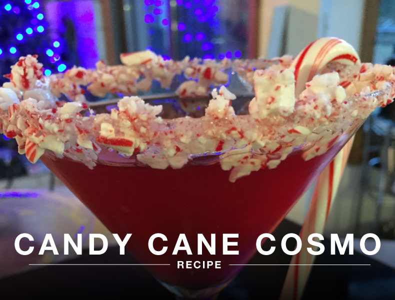 Candy Cane Cosmo Sous Vide Recipe