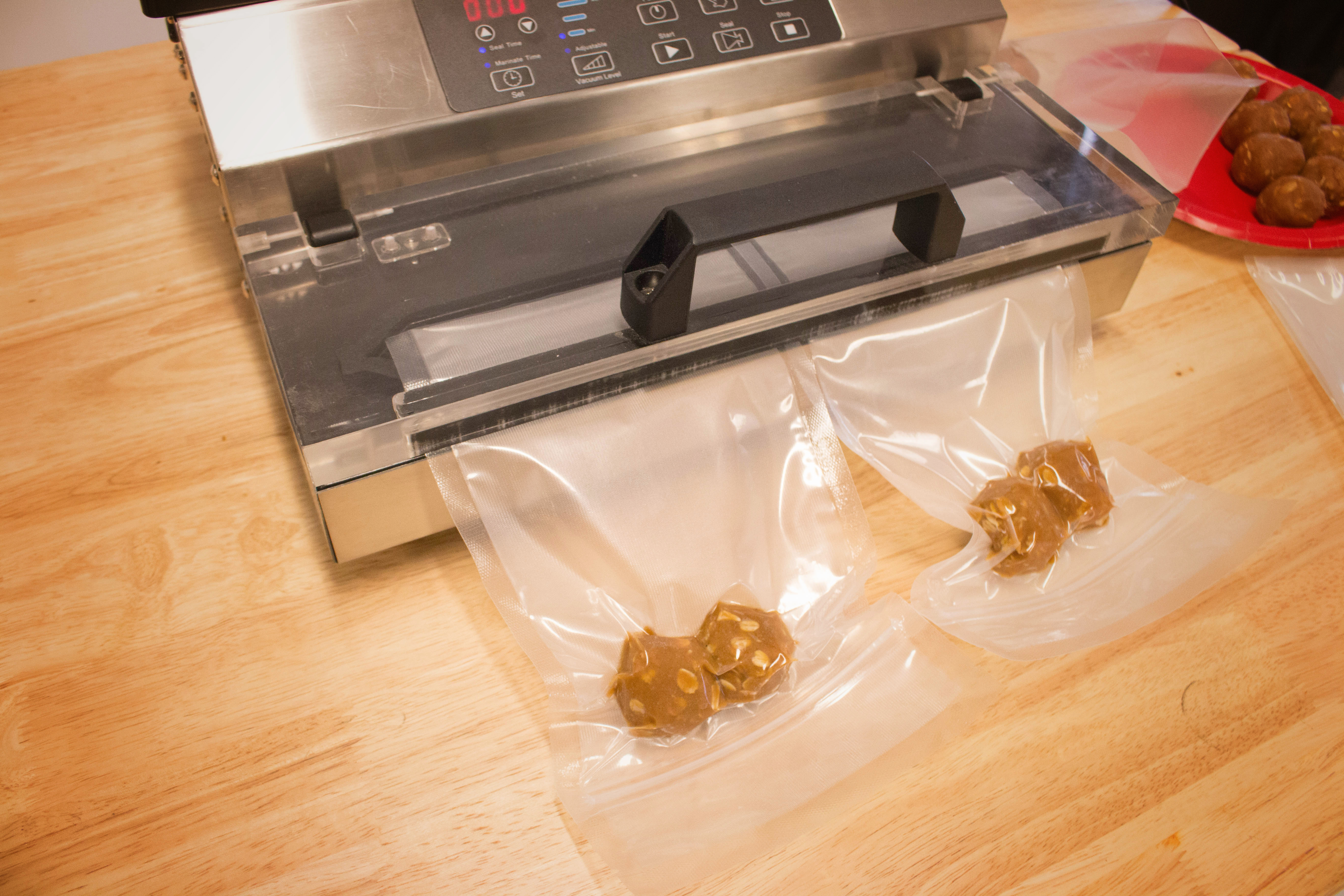 Vacuum seal for storage