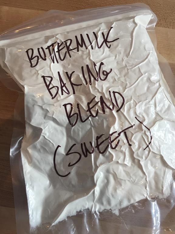 Buttermilk Baking Blend Sweet VacMaster