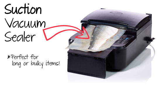 DUO550 is a suction plus chamber vacuum sealer in one.