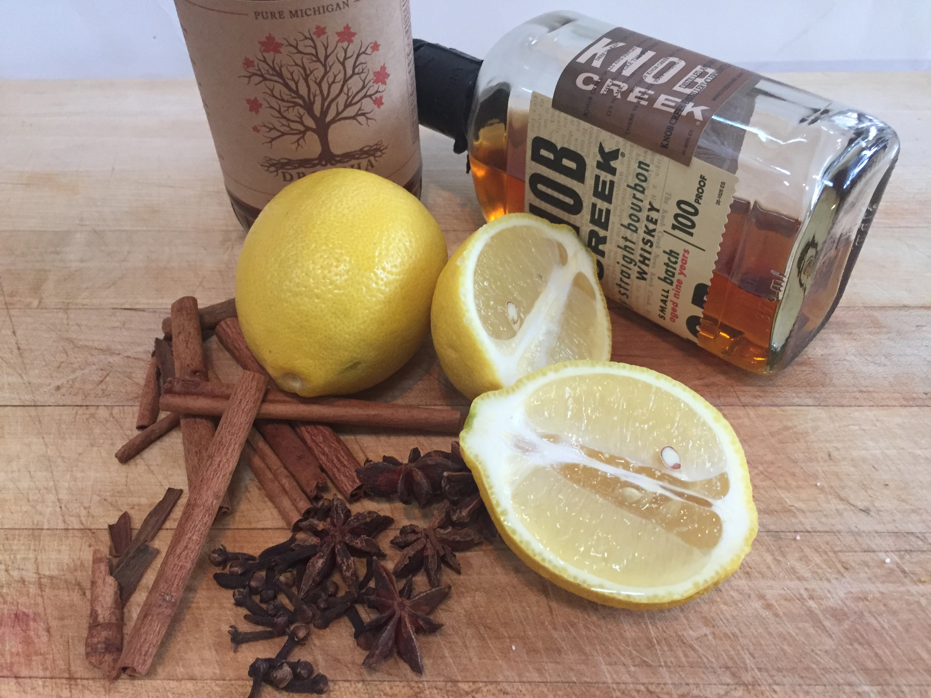 sous vide hot toddy ingredients